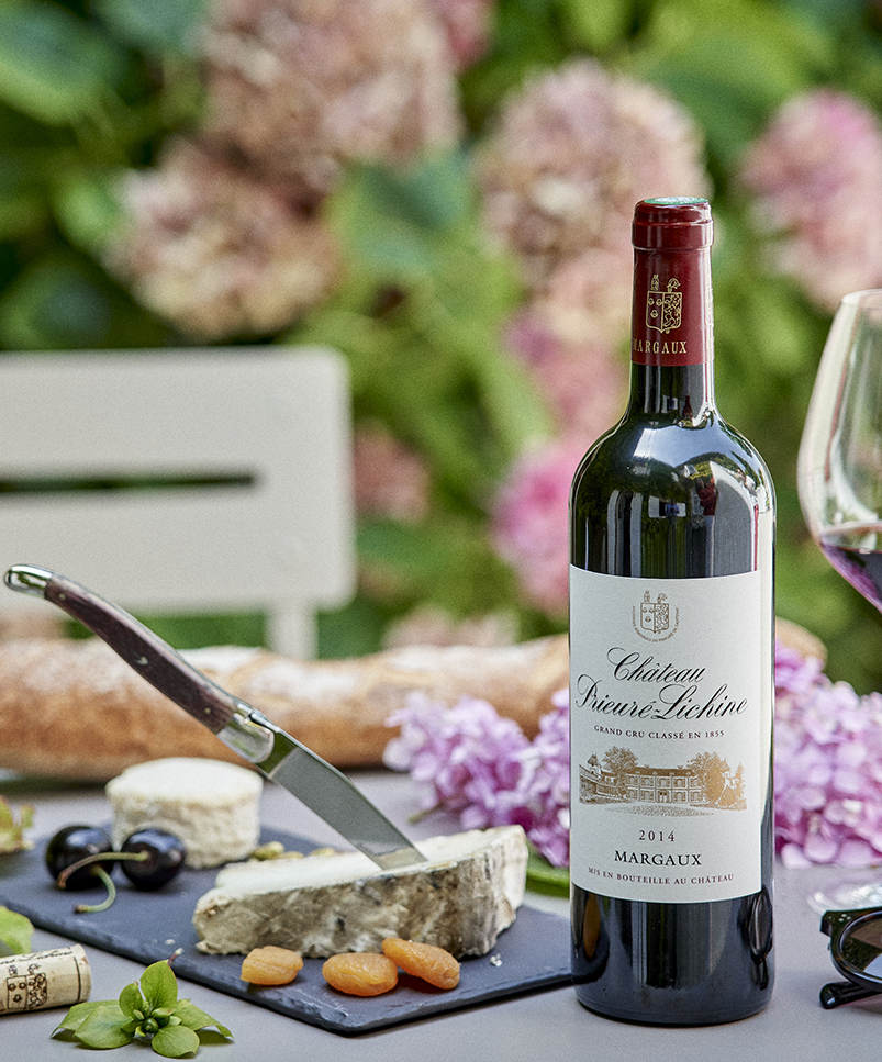 HVE Certification (High Environmental Value) and Best of Wine Tourism in Margaux, Château Prieuré-Lichine